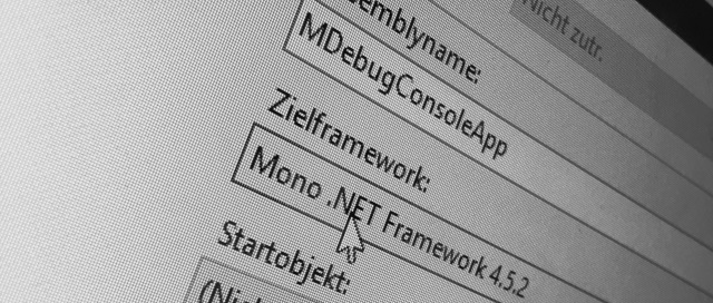 Targeting Mono in Visual Studio